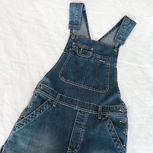 The 90s Flared Overalls